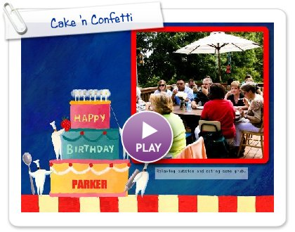 Click to play Cake 'n Confetti