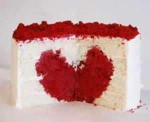 Heart Cake Tutorial {Surprise Inside Cake}