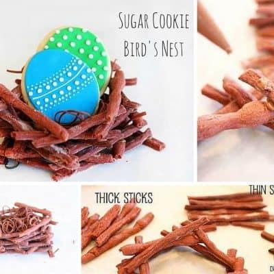 Sugar Cookie Bird's Nest