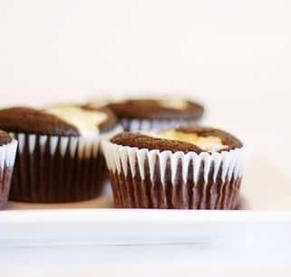Fancy Chocolate Cream Cheese Cupcakes