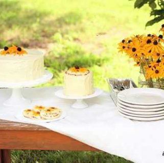 Black Eyed Susan Bridal Shower
