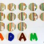Stripe Birthday Cookies