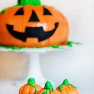 Mini Halloween Pumpkins