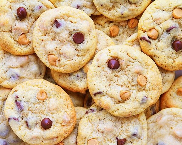 NYT's Cookies with Peanut butter!
