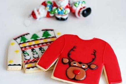 The ORIGINAL Ugly Sweater Christmas Cookie!