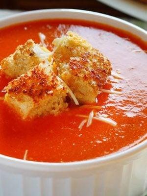 The BEST Tomato Soup Recipe ever. It does not disappoint!