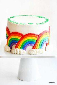 St. Patricks Day Cake