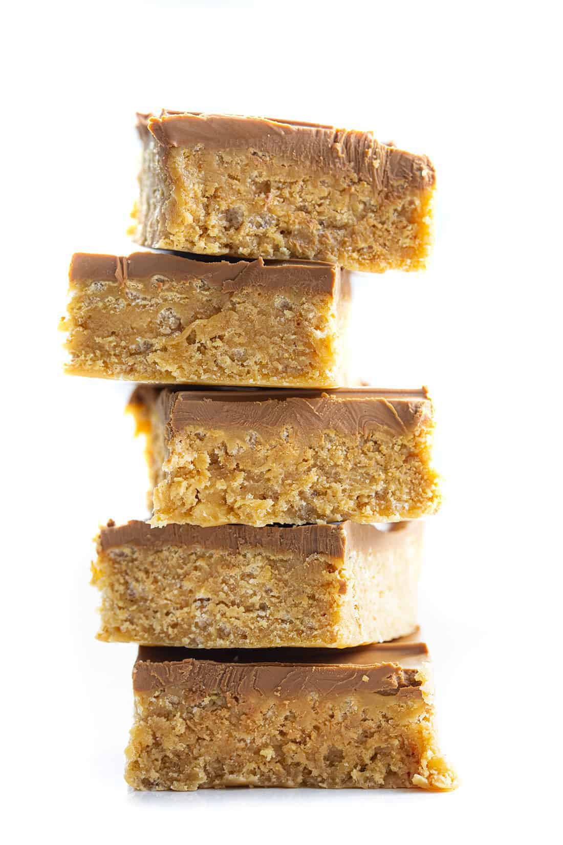 Stacked Special K Bars - Scotcheroos