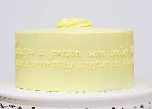 quote cake