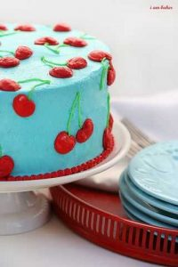 The Most Perfect Cherry Cake!