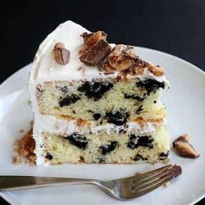 Oreo Heath Cake!