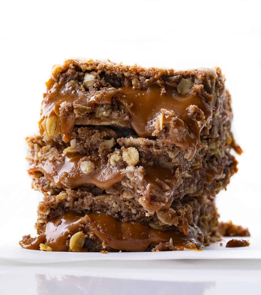 Stack of Brownie Milky Way Bars