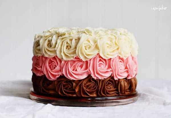 Remarkable Neapolitan Cake Video I Am Baker Personalised Birthday Cards Epsylily Jamesorg