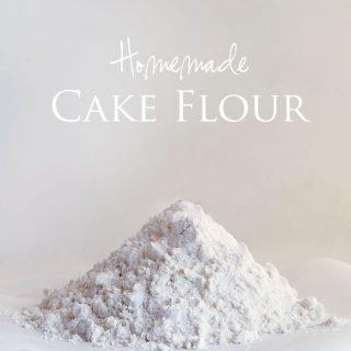 Homemade Cake Flour {Baking with Aunt Inga}