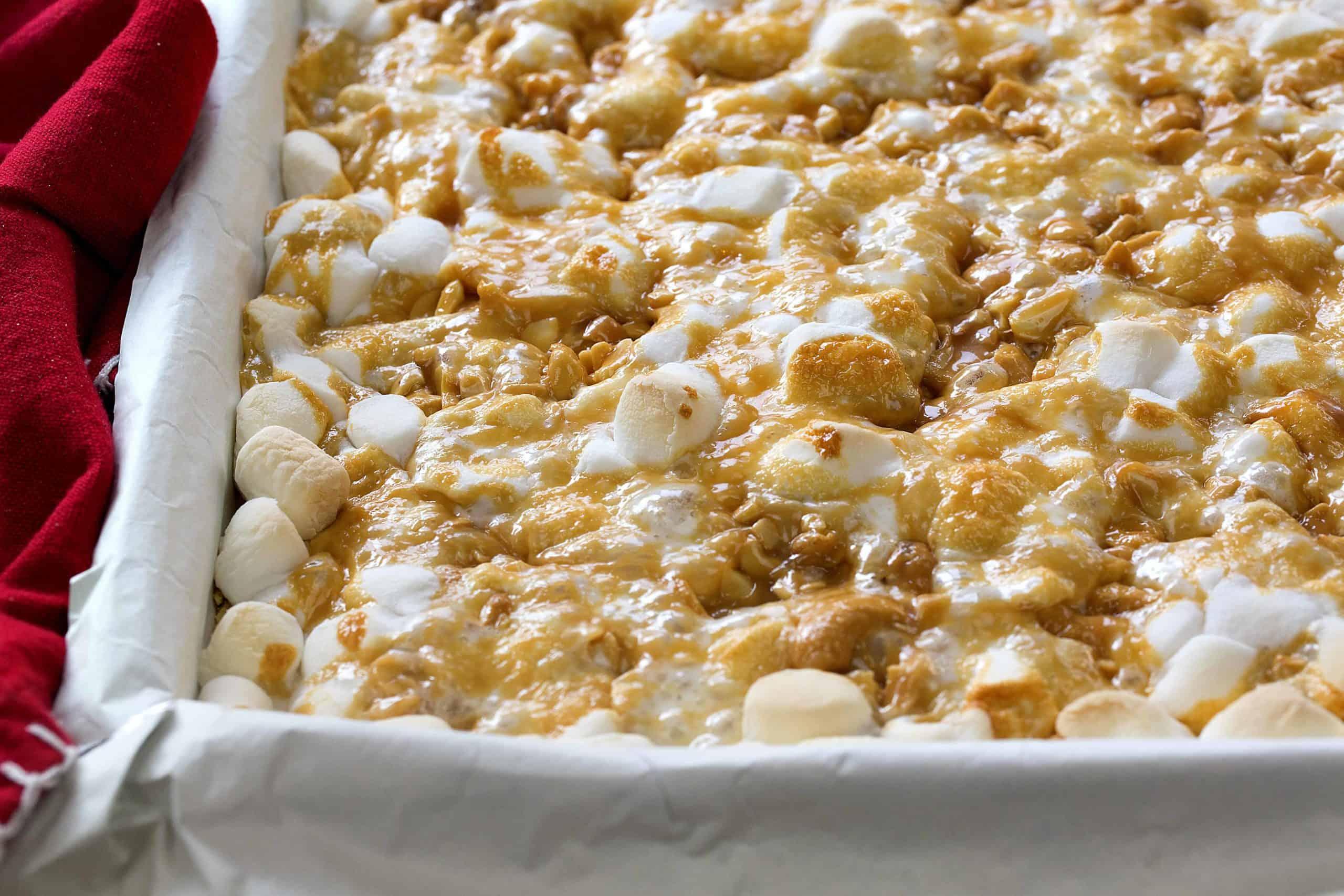 Caramel Cashew Bars Recipe