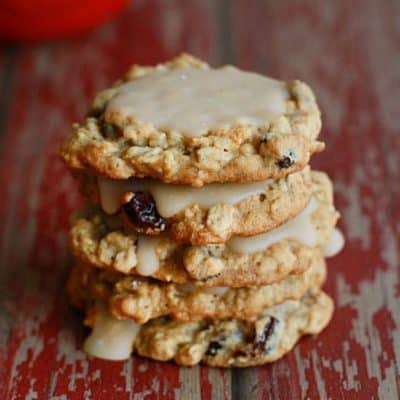 maple glaze cookies