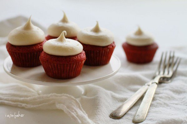 red velvet mini cupcakes recipe