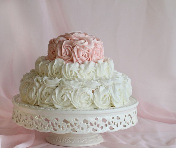 Cake Images Rose : Rose Birthday Cake - i am baker