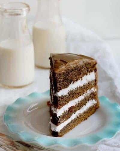 Coffee Cream Cake I Am Baker