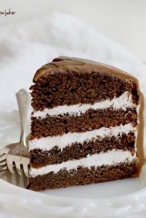 Pioneer Woman's Coffee Cream Cake