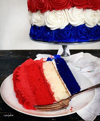 Patriotic Rose Cake - The Original