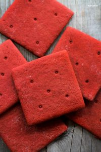Red Velvet Graham Crackers