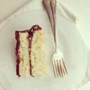 White Zucchini Cake with decadent Chocolate Buttercream