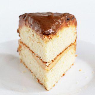 Crispy Chocolate Caramel Cake