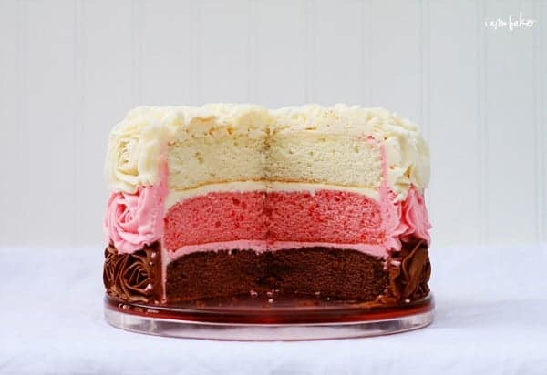 How To Make A Double Layer Cake With One Pan