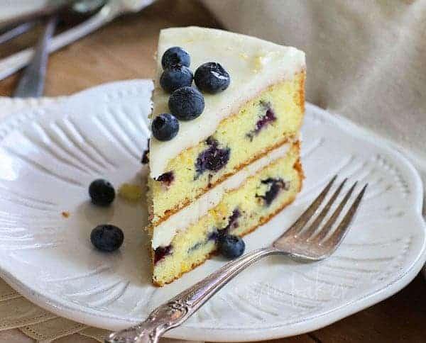 Blueberry Citrus Cake - i am baker