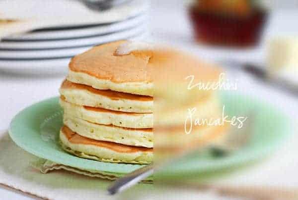 zucchini pancakes words