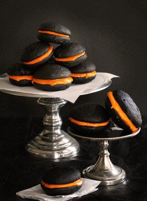 halloween whoopie pie