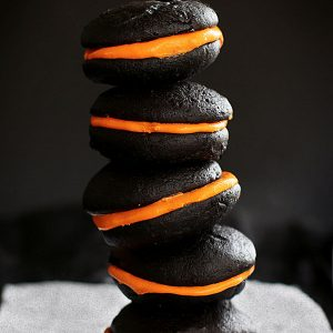 whoopie pies stacked