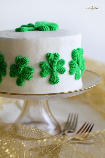 Shamrock Cake I Am Baker