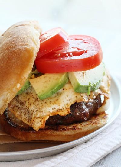 My Favorite Hamburger   i am baker