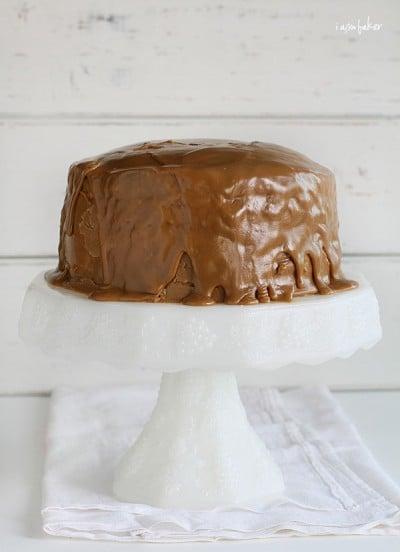 Coffee Cream Cake with Coffee Icing!