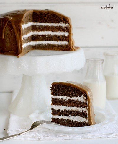 Layered Coffee Cake