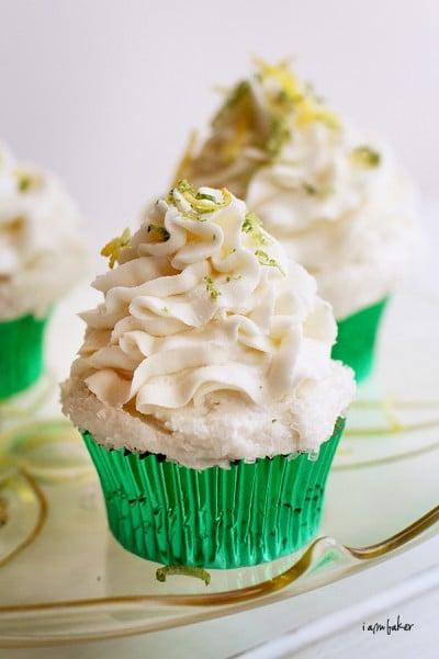Margarita Cupcakes - i am baker
