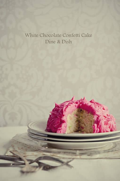 White Chocolate Cake from Kristen of Dine & Dish