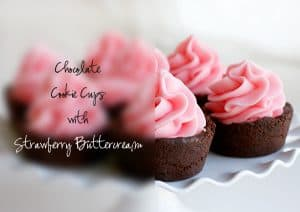 These Chocolate Cookie Cups are sure to impress!
