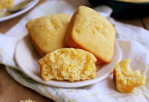 Homemade Cornbread with Real Corn