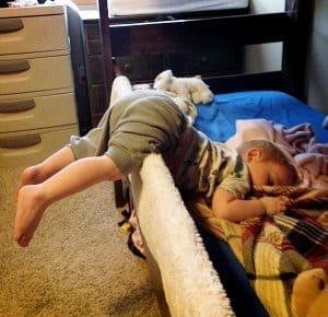 Eddie Sleeping
