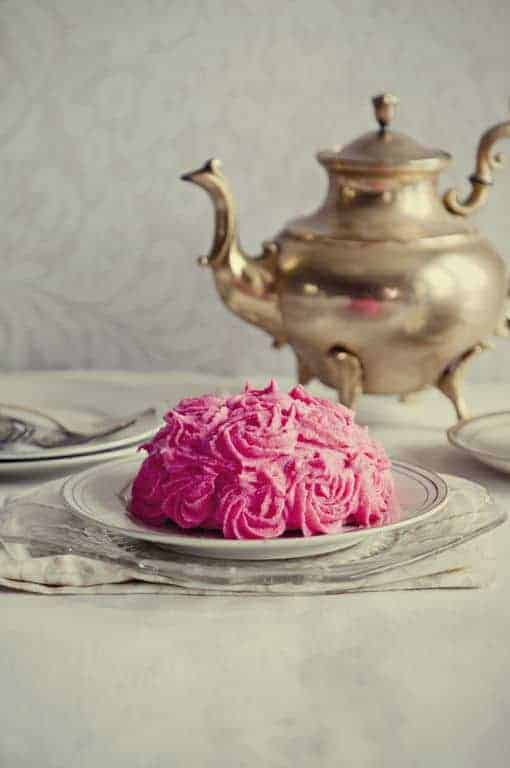 White Chocolate Rose cake from Dine&Dish