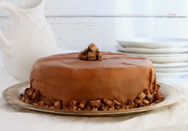 milky choc cake