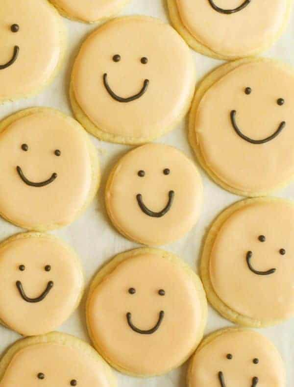 Smiling Baby Sugar Cookies
