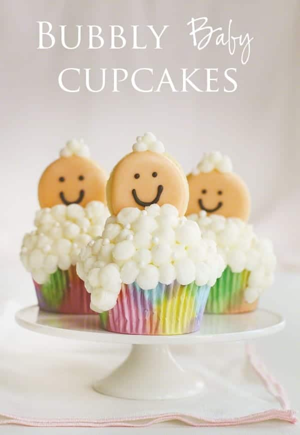 Bubbly Baby Cupcakes!
