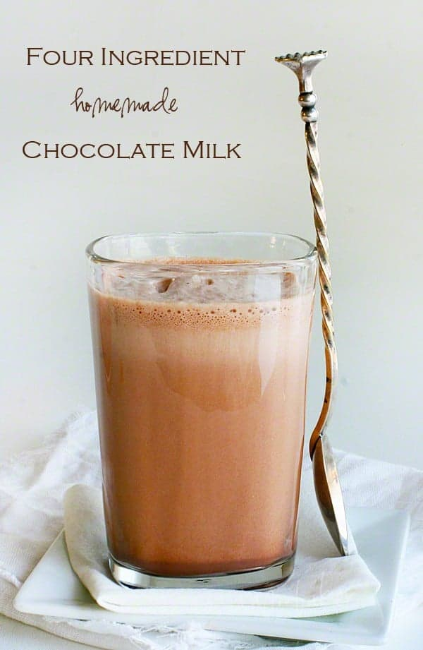 The Best Ever Homemade Chocolate Milk