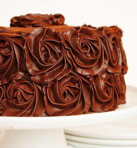 Chocolate Rose Cake!
