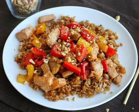 Healthy Kung Pao Chicken Video I Am Baker