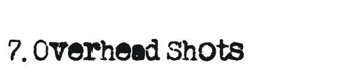 Food Blogging Trends #7 Overhead Shots